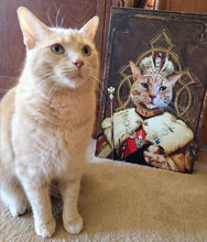 Load image into Gallery viewer, The King Custom Pet Portrait