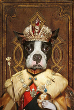Load image into Gallery viewer, The King Custom Pet Portrait - Noble Pawtrait