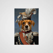 Load image into Gallery viewer, The Legend Colonel Custom Pet Portrait Poster - Noble Pawtrait