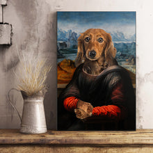 Load image into Gallery viewer, The Madam Custom Pet Portrait Poster - Noble Pawtrait