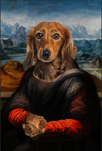 Load image into Gallery viewer, The Madam Custom Pet Portrait Digital Download - Noble Pawtrait