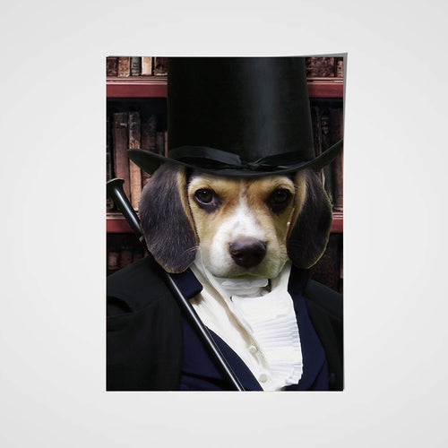 The Magician Custom Pet Portrait Poster - Noble Pawtrait