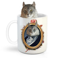 Load image into Gallery viewer, The Man Custom Pet Mug - Noble Pawtrait