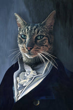 Load image into Gallery viewer, The Man Custom Pet Portrait Poster - Noble Pawtrait
