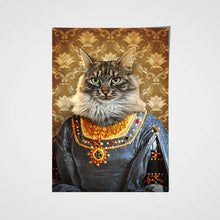 Load image into Gallery viewer, The Marchioness Custom Pet Portrait Poster - Noble Pawtrait