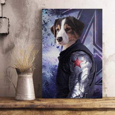 The Metal Arm/The Winter Warrior Custom Pet Portrait - Noble Pawtrait