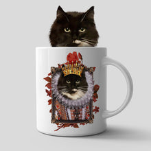 Load image into Gallery viewer, The Monarch Custom Pet Mug - Noble Pawtrait