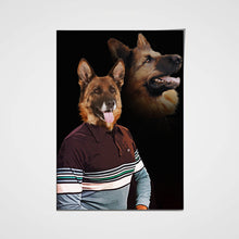 Load image into Gallery viewer, The Nerd Custom Pet Portrait Poster - Noble Pawtrait