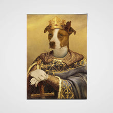 Load image into Gallery viewer, The Noble Warrior Custom Pet Portrait Poster - Noble Pawtrait