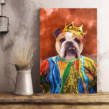Load image into Gallery viewer, The Notorious Mr. Big Custom Pet Portrait Poster - Noble Pawtrait