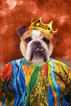 Load image into Gallery viewer, The Notorious Mr. Big Custom Pet Portrait Digital Download - Noble Pawtrait