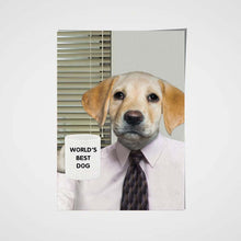 Load image into Gallery viewer, The Office Boss Custom Pet Portrait Poster - Noble Pawtrait