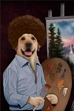 Load image into Gallery viewer, The Painter Custom Pet Portrait Canvas - Noble Pawtrait