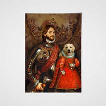 Load image into Gallery viewer, The Partner For Life Pet Portrait Poster - Noble Pawtrait