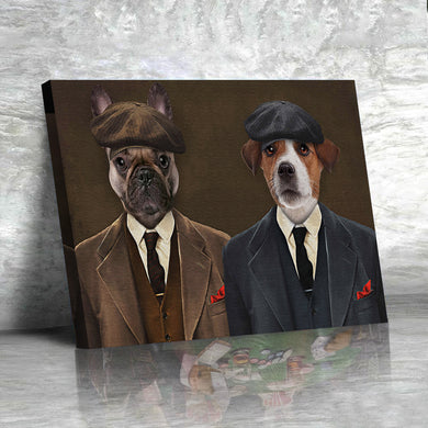 The Pawky Brother Custom Pet Portrait - Noble Pawtrait