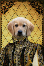 Load image into Gallery viewer, The Persia Prince Custom Pet Portrait - Noble Pawtrait