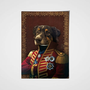 The Pilus Prior Custom Pet Portrait Poster - Noble Pawtrait