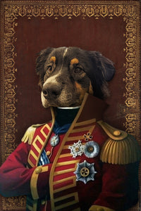 The Pilus Prior Custom Pet Portrait - Noble Pawtrait