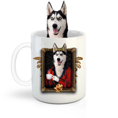 The Poet Custom Pet Mug - Noble Pawtrait