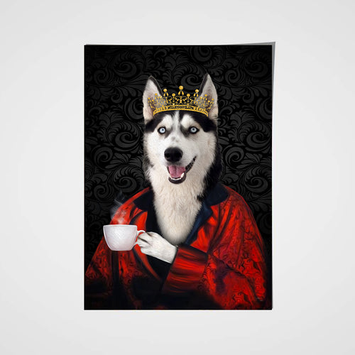 The Poet Custom Pet Portrait Poster - Noble Pawtrait