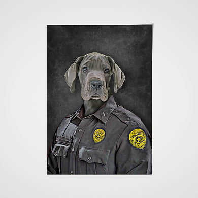 The Police Custom Pet Portrait Poster - Noble Pawtrait