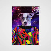 Load image into Gallery viewer, The Pop Star Custom Pet Portrait Poster - Noble Pawtrait