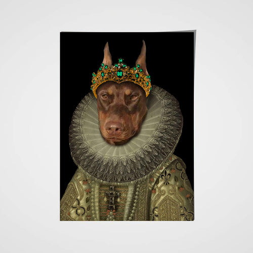 The Priest Custom Pet Portrait Poster - Noble Pawtrait