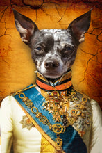 Load image into Gallery viewer, The Prince Custom Pet Portrait - Noble Pawtrait