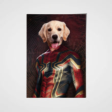 Load image into Gallery viewer, The Spider Paw Custom Pet Portrait Poster - Noble Pawtrait