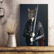 Load image into Gallery viewer, The Sword Legend Custom Pet Portrait Poster - Noble Pawtrait