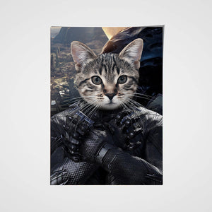 The Wakadian Custom Pet Portrait Poster - Noble Pawtrait