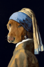 Load image into Gallery viewer, The Woman Custom Pet Portrait Canvas - Noble Pawtrait
