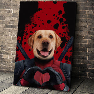 The Dead Paw Custom Pet Portrait Canvas - Noble Pawtrait
