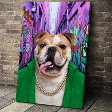 Load image into Gallery viewer, The Hood Custom Pet Portrait Canvas - Noble Pawtrait