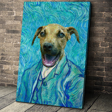 Load image into Gallery viewer, The Impasto Custom Pet Portrait - Noble Pawtrait