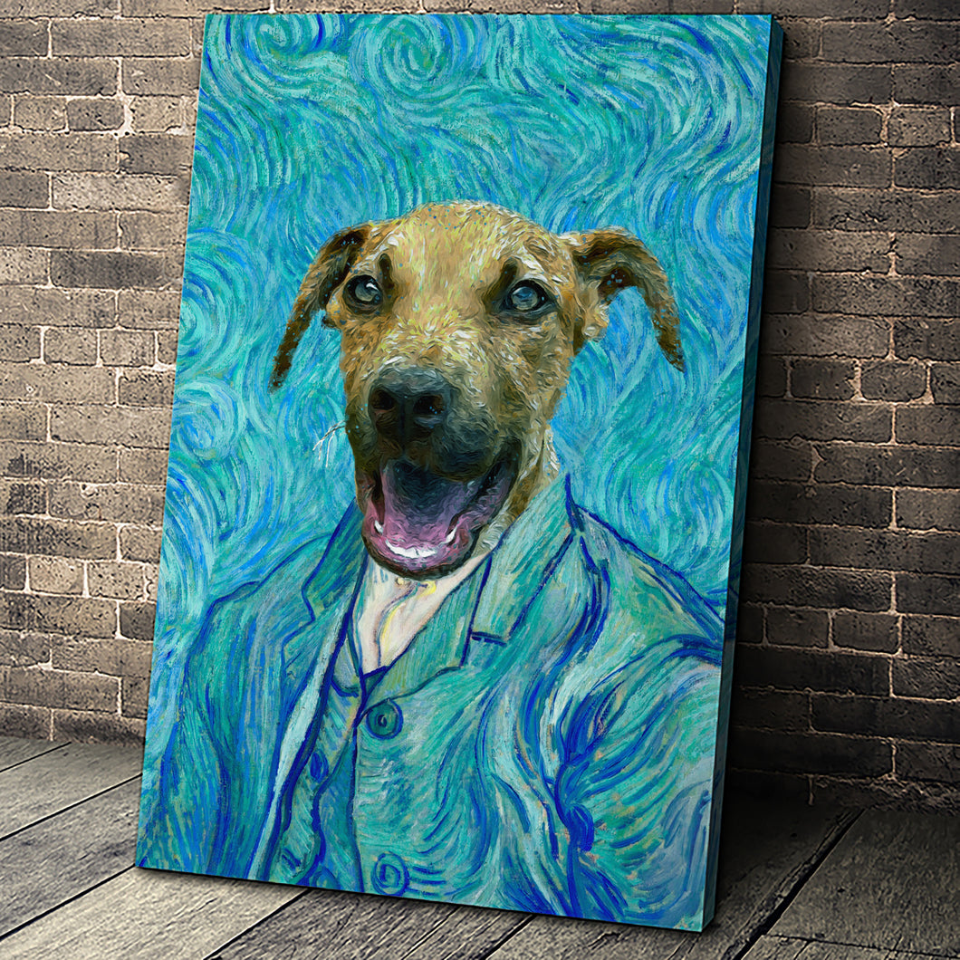 The Impasto Custom Pet Portrait - Noble Pawtrait