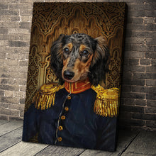 Load image into Gallery viewer, The Veteran Custom Pet Portrait Canvas - Noble Pawtrait
