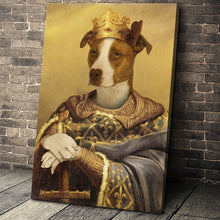 Load image into Gallery viewer, The Noble Warrior Custom Pet Portrait - Noble Pawtrait