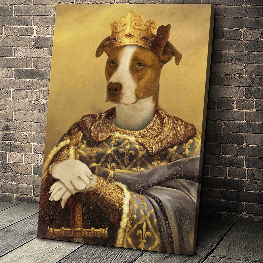 The Noble Warrior Custom Pet Portrait - Noble Pawtrait