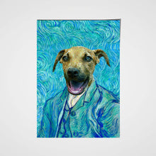 Load image into Gallery viewer, The Impasto Custom Pet Portrait Poster - Noble Pawtrait