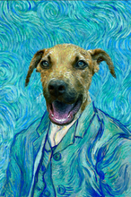 Load image into Gallery viewer, The Impasto Custom Pet Portrait Canvas - Noble Pawtrait