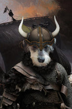 Load image into Gallery viewer, The Viking Custom Pet Portrait - Noble Pawtrait