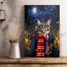 Load image into Gallery viewer, The Wizard Custom Pet Portrait Poster - Noble Pawtrait