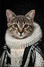 Load image into Gallery viewer, The Lord Custom Pet Portrait Poster - Noble Pawtrait