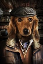 Load image into Gallery viewer, The Industrial Man Custom Pet Portrait Digital Download - Noble Pawtrait
