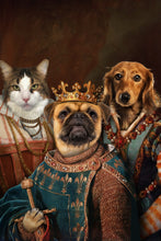 Load image into Gallery viewer, The Legend Trio Custom Pet Portrait Digital Download - Noble Pawtrait