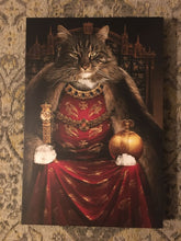 Load image into Gallery viewer, The Prophet Lord Custom Pet Portrait Canvas - Noble Pawtrait