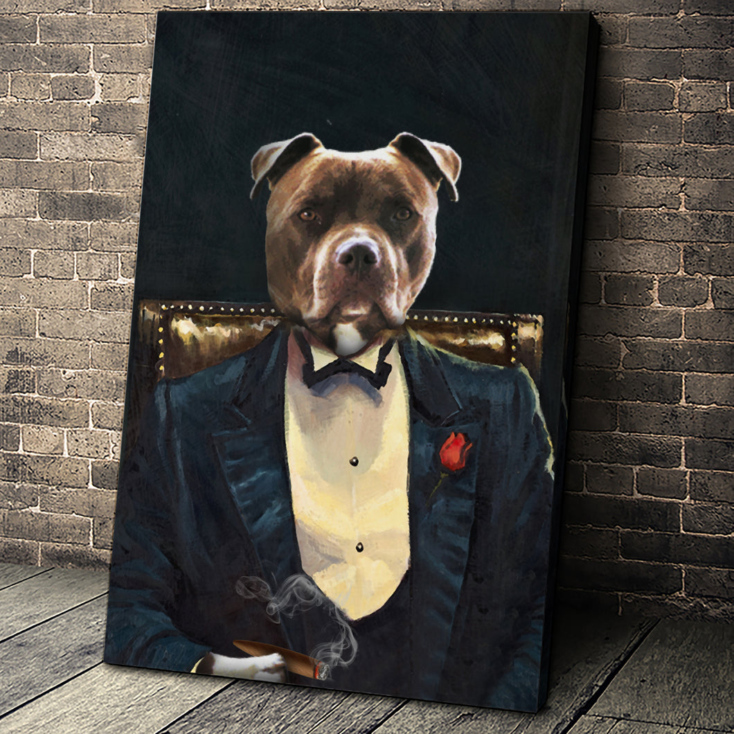 The Legend Custom Pet Portrait - Noble Pawtrait