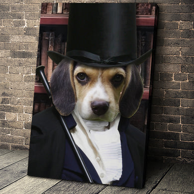 The Magician Custom Pet Portrait - Noble Pawtrait
