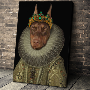 The Priest Custom Pet Portrait - Noble Pawtrait